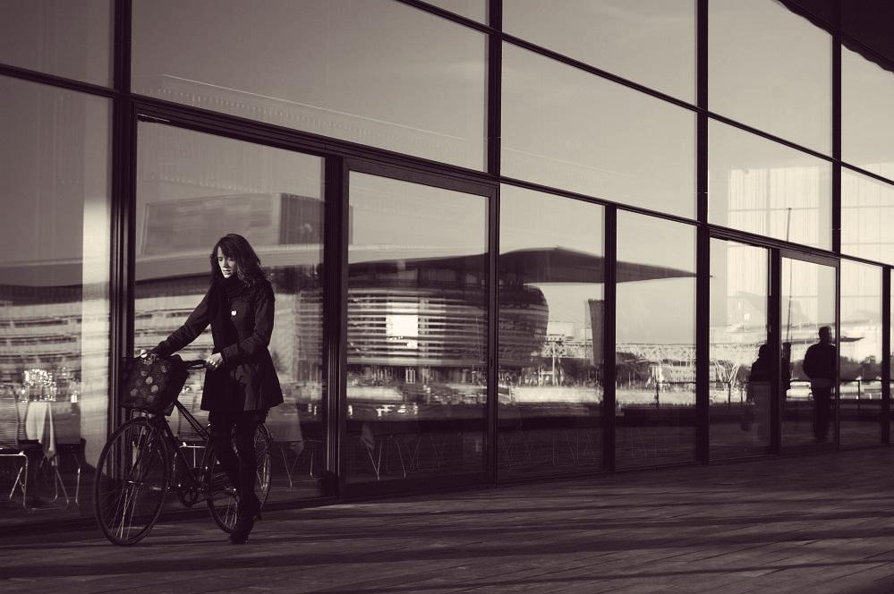 Lieben ist wie Fahrradfahren