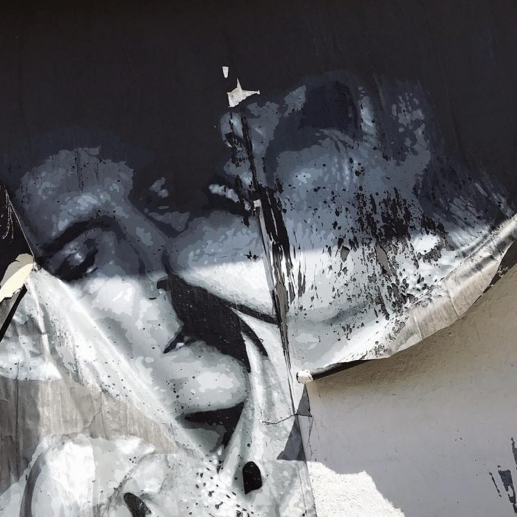 I streetartiseverywhere Weil ich Angst hatte Vor der Enttuschung inhellip