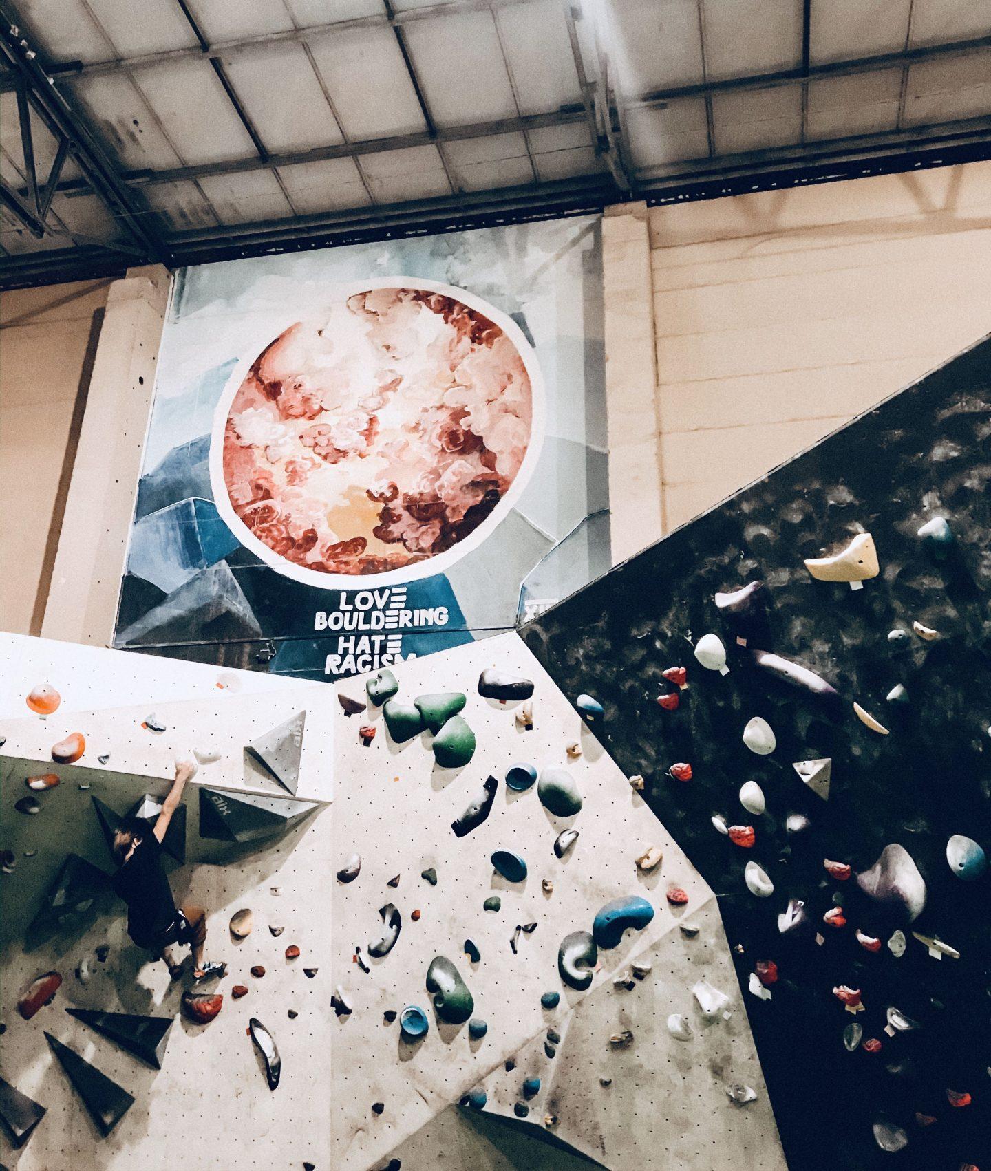 boulderliebe-boulderhalle Kosmos in Leipzig