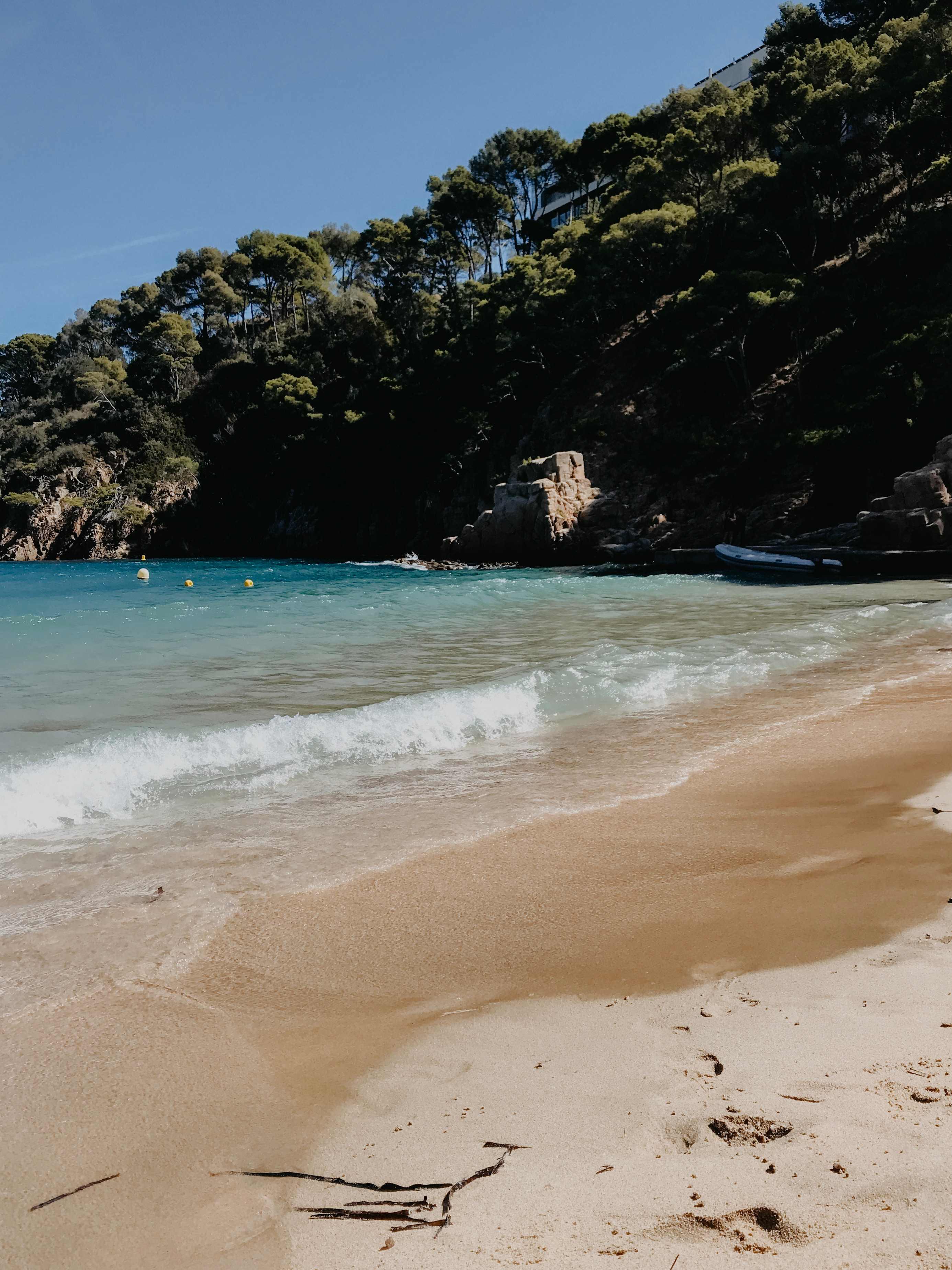 Strand am Mittelmeer