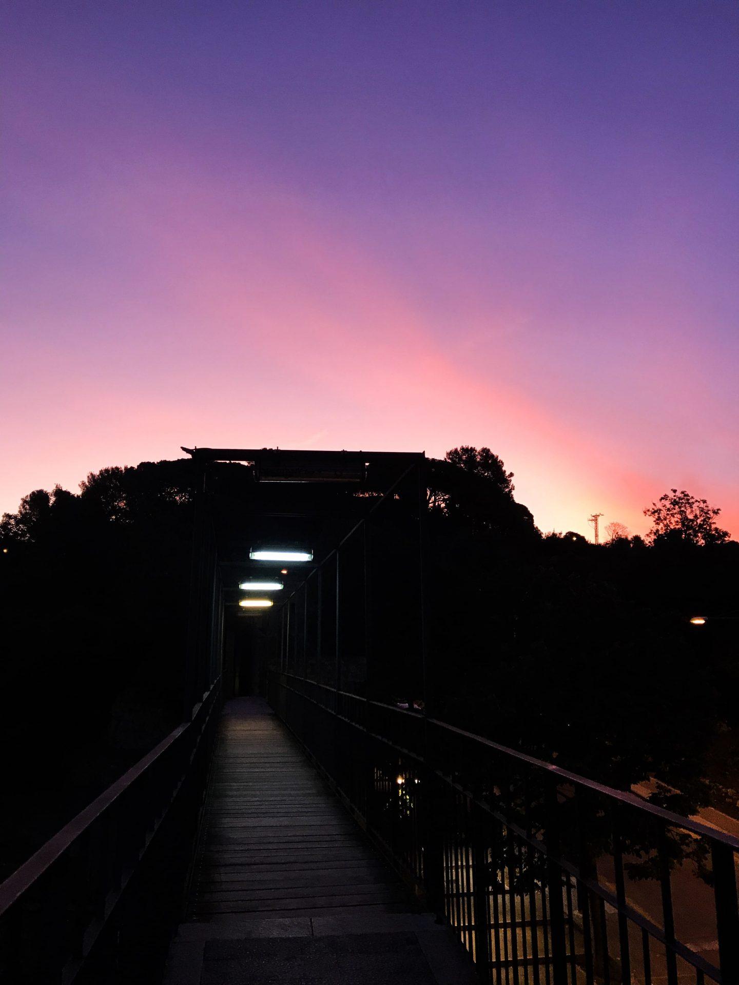 Sonnenaufgang Girona